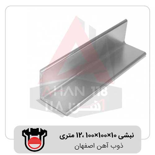 نبشی-10×100×100-،12-متری-ذوب-آهن-اصفهان